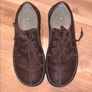 Dr. Martens 'Ripley' brown leather shoes size 11